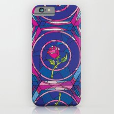 Beauty and the Beast Rose Pattern iPhone 6s Slim Case