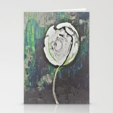 Golden Rose Acrylic Icey… Stationery Cards