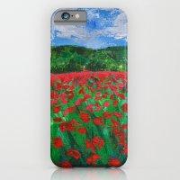Poppy Field iPhone 6 Slim Case