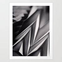 Paper Sculpture #8 Art Print