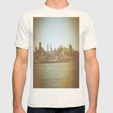 San Francisco Mens Fitted Tee Natural SMALL