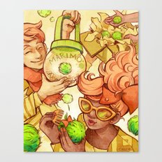 Marimos Canvas Print