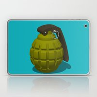 Hand Grenade Laptop & iPad Skin