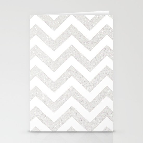 SILVER Stationery Card
