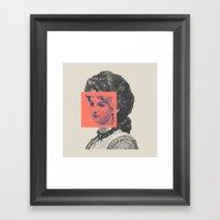 Sunday Girl Framed Art Print