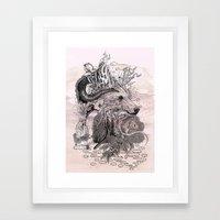 Forest Warden Framed Art Print