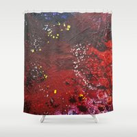 Abstract liquidity. Shower Curtain
