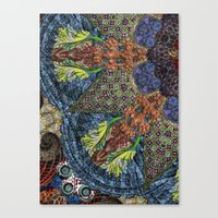 Psychedelic Botanical 6 Canvas Print