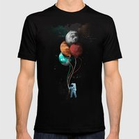 A Space Oddity Mens Fitted Tee Black SMALL