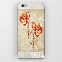 flower3 iPhone & iPod Skin