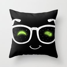 NERD NIGHT Throw Pillow