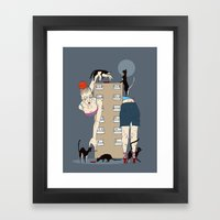 A Lady Of A Certain Age Framed Art Print