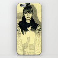 Fashion Sketch iPhone & iPod Skin
