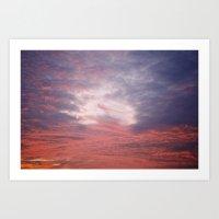 Norfolk, Sunset 2 Art Print