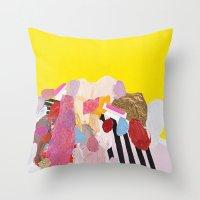 Monumental Throw Pillow
