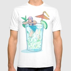 Mojito SMALL White Mens Fitted Tee