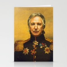 Alan Rickman - Replacefa… Stationery Cards
