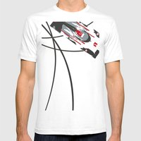 e-tron Mens Fitted Tee White SMALL