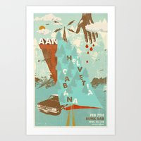 Aan W/ Helvetia & Cabana… Art Print
