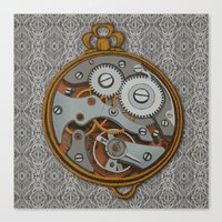 Pieces of Time Canvas Print
