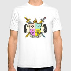 Heroooldry SMALL Mens Fitted Tee White