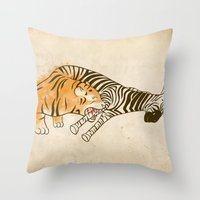 A Self Containing Food C… Throw Pillow