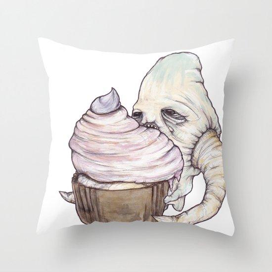 I Am Not A Cannibal Throw Pillow