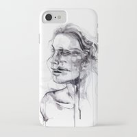 butterfly iPhone & iPod Cases featuring Tremore by agnes-cecile