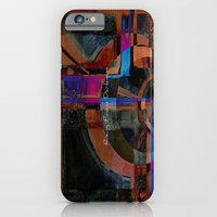 iPhone & iPod Case featuring Rising From Darkness Abstract by Corbin Henry