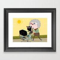 3d  Framed Art Print