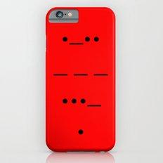 Love In Morse iPhone 6s Slim Case