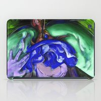 Passion green iPad Case