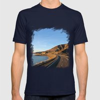 Road to Bariloche Mens Fitted Tee Navy SMALL