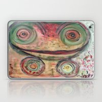 Frog is in the House Laptop & iPad Skin