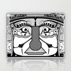 Tribal design face - 1 Laptop & iPad Skin