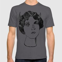 1922 Lila Lee portrait Mens Fitted Tee Asphalt SMALL