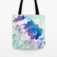 Rainbow Cosmos Tote Bag