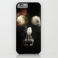 iPhone & iPod Case featuring Cave Skull by Ali GULEC