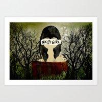 Nasty Girl  Art Print