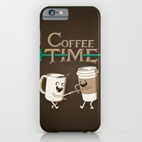 iPhone & iPod Case featuring Coffee Time! by powerpig