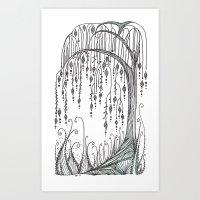 Willow Tree Art Print