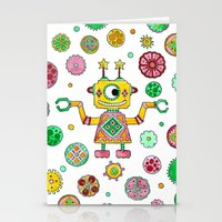 Robot Rita Stationery Cards