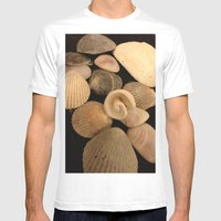 Shells  Mens Fitted Tee White SMALL