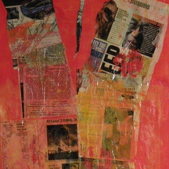 COLLAGE6 Art Print