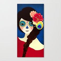 La Muertita ~ Candy Flavoured Canvas Print