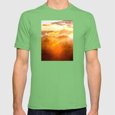 A Brand New Day Mens Fitted Tee Grass SMALL