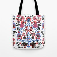 The Pug Of Folk  Tote Bag