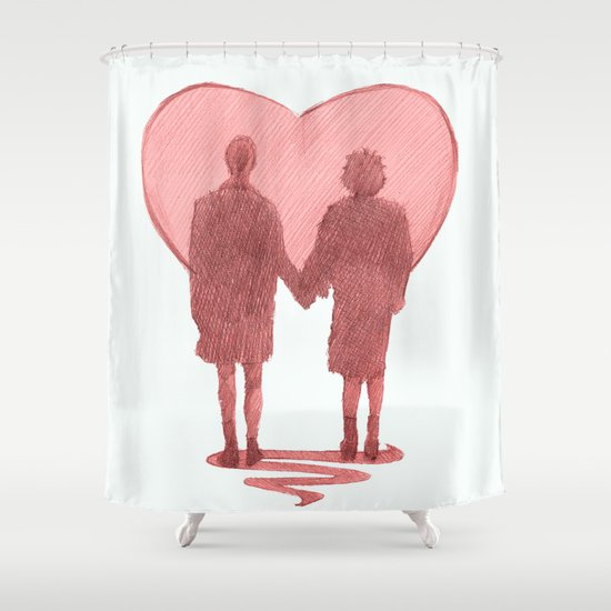 fight club ending Shower Curtain