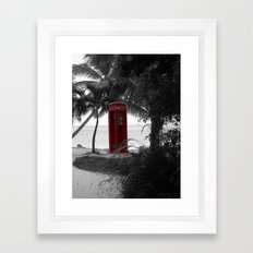 Why Do You Stay Here? Framed Art Print