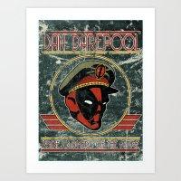 Dan Darepool: Insane Nin… Art Print